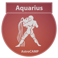 Image of Aquarius zodiac sign etc
