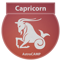 Image of Capricorn zodiac sign etc