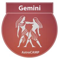 Image of Gemini zodiac sign etc