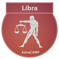 Image of Libra zodiac sign etc