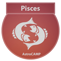 Image of PISCES zodiac sign etc