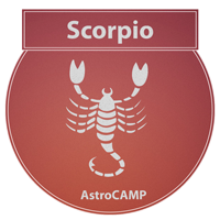 Image of Scorpio zodiac sign etc