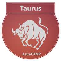 Image of Taurus zodiac sign etc
