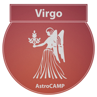 Image of Virgo zodiac sign etc